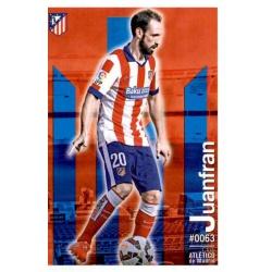 Juanfran Atlético Madrid 63 Las Fichas Quiz Liga 2016 Official Quiz Game Collection