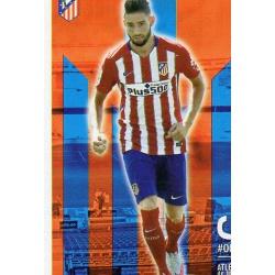 Carrasco Atlético Madrid 64 Las Fichas Quiz Liga 2016 Official Quiz Game Collection