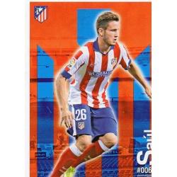 Saúl Atlético Madrid 65 Las Fichas Quiz Liga 2016 Official Quiz Game Collection