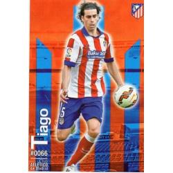 Tiago Atlético Madrid 66 Las Fichas Quiz Liga 2016 Official Quiz Game Collection
