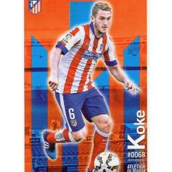 Koke Atlético Madrid 68 Las Fichas Quiz Liga 2016 Official Quiz Game Collection