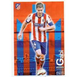 Gabi Atlético Madrid 69 Las Fichas Quiz Liga 2016 Official Quiz Game Collection