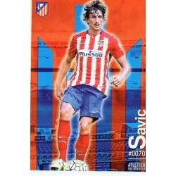 Savic Atlético Madrid 70 Las Fichas Quiz Liga 2016 Official Quiz Game Collection