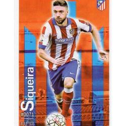 Siqueira Atlético Madrid 71 Las Fichas Quiz Liga 2016 Official Quiz Game Collection