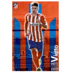 Vietto Atlético Madrid 72 Las Fichas Quiz Liga 2016 Official Quiz Game Collection