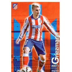 Griezmann Atlético Madrid 73 Las Fichas Quiz Liga 2016 Official Quiz Game Collection