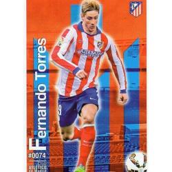 Fernando Torres Atlético Madrid 74 Las Fichas Quiz Liga 2016 Official Quiz Game Collection