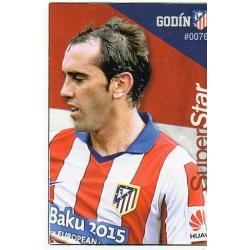 Godin Superstar Atlético Madrid 76 Las Fichas Quiz Liga 2016 Official Quiz Game Collection
