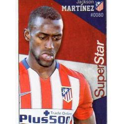 Jackson Martínez Superstar Atlético Madrid 80 Las Fichas Quiz Liga 2016 Official Quiz Game Collection