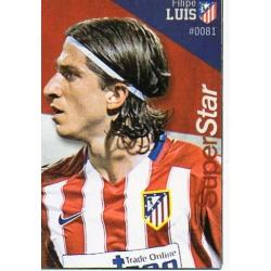 Filipe Luis Superstar Atlético Madrid 81 Las Fichas Quiz Liga 2016 Official Quiz Game Collection