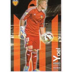 Yoel Valencia 85 Las Fichas Quiz Liga 2016 Official Quiz Game Collection
