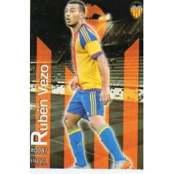 Rubén Vezo Valencia 87 Las Fichas Quiz Liga 2016 Official Quiz Game Collection