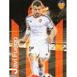 Javi Fuego Valencia 91 Las Fichas Quiz Liga 2016 Official Quiz Game Collection