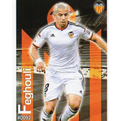 Feghouli Valencia 92 Las Fichas Quiz Liga 2016 Official Quiz Game Collection