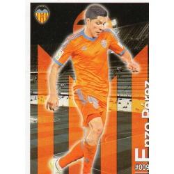 Enzo Pérez Valencia 94 Las Fichas Quiz Liga 2016 Official Quiz Game Collection