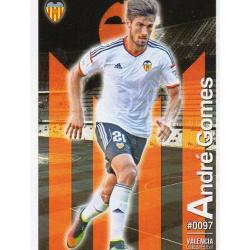 André Gomes Valencia 97 Las Fichas Quiz Liga 2016 Official Quiz Game Collection