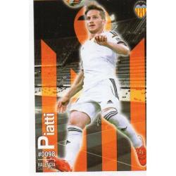 Piatti Valencia 98 Las Fichas Quiz Liga 2016 Official Quiz Game Collection
