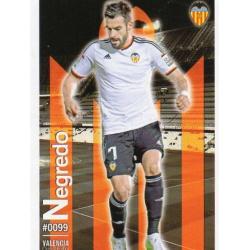 Negredo Valencia 99 Las Fichas Quiz Liga 2016 Official Quiz Game Collection