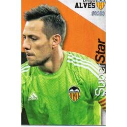 Diego Alves Superstar Valencia 103 Las Fichas Quiz Liga 2016 Official Quiz Game Collection