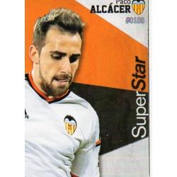 Paco Alcacer Superstar Valencia 105 Las Fichas Quiz Liga 2016 Official Quiz Game Collection