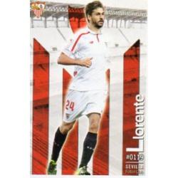Fernando Llorente Sevilla 119 Las Fichas Quiz Liga 2016 Official Quiz Game Collection