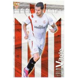 Vitolo Sevilla 122 Las Fichas Quiz Liga 2016 Official Quiz Game Collection