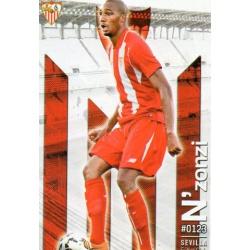 N'Zonzi Sevilla 123 Las Fichas Quiz Liga 2016 Official Quiz Game Collection
