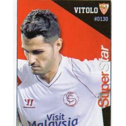 Vitolo Superstar Sevilla 130 Las Fichas Quiz Liga 2016 Official Quiz Game Collection