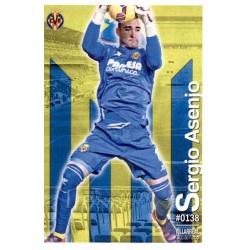 Sergio Asenjo Villarreal 138 Las Fichas Quiz Liga 2016 Official Quiz Game Collection