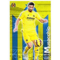 Musacchio Villarreal 142 Las Fichas Quiz Liga 2016 Official Quiz Game Collection
