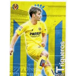 Manu Trigueros Villarreal 147 Las Fichas Quiz Liga 2016 Official Quiz Game Collection