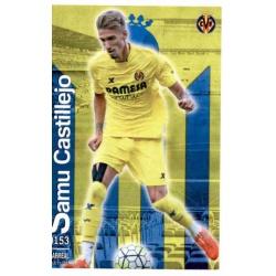 Samu Castillejo Villarreal 153 Las Fichas Quiz Liga 2016 Official Quiz Game Collection