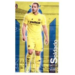 Soldado Villarreal 154 Las Fichas Quiz Liga 2016 Official Quiz Game Collection