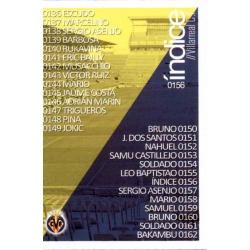 Índice Villarreal 156 Las Fichas Quiz Liga 2016 Official Quiz Game Collection