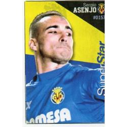 Sergio Asenjo Superstar Villarreal 157 Las Fichas Quiz Liga 2016 Official Quiz Game Collection