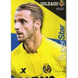 Soldado Superstar Villarreal 161 Las Fichas Quiz Liga 2016 Official Quiz Game Collection