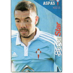 Iago Aspas Superstar Celta 215 Las Fichas Quiz Liga 2016 Official Quiz Game Collection