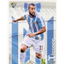 Tissone Málaga 230 Las Fichas Quiz Liga 2016 Official Quiz Game Collection