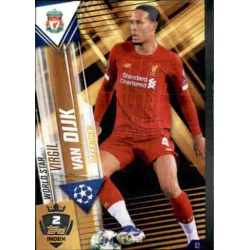 Virgil van Dijk Liverpool World Star W2 Match Attax 101 2019-20