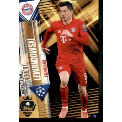 Robert Lewandowski Bayern München World Star W4 Match Attax 101 2019-20
