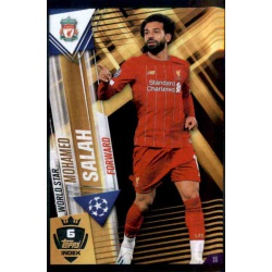 Mohamed Salah Liverpool World Star W6 Match Attax 101 2019-20