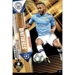 Raheem Sterling Manchester City World Star W8 Match Attax 101 2019-20