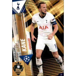 Harry Kane Tottenham Hotspur World Star W9 Match Attax 101 2019-20