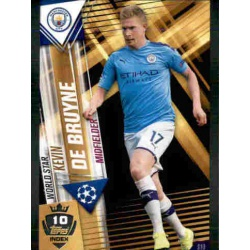 Kevin De Bruyne Manchester City World Star W10 Match Attax 101 2019-20