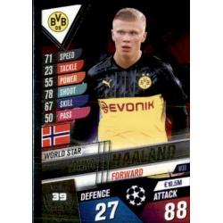 Erling Haaland Brussia Dortmund World Star W39