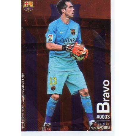 Claudio Bravo Metalcard Limited Edition Barcelona