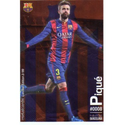 Gerard Piqué Metalcard Limited Edition Barcelona