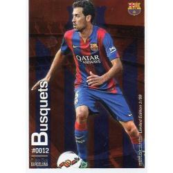 Sergio Busquets Metalcard Limited Edition Barcelona
