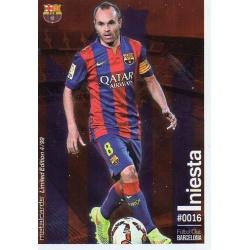 Andrés Iniesta Metalcard Limited Edition Barcelona
