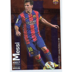 Messi Metalcard Limited Edition Barcelona